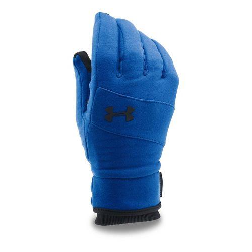 Mens Under Armour Elements Glove Handwear - Royal/Black M
