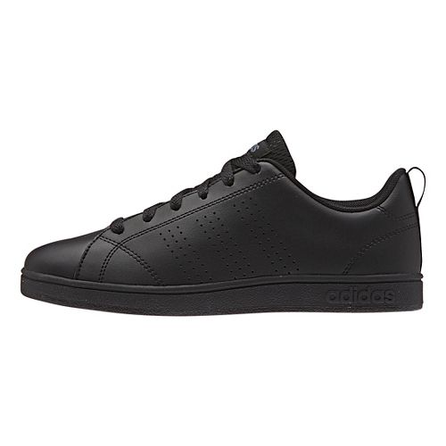 adidas Kids Advantage Clean VS Casual Shoe - Black 4Y