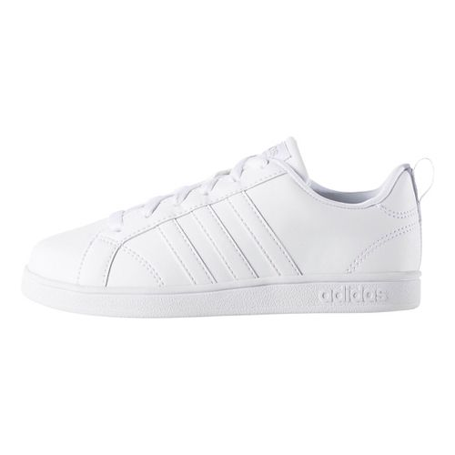 adidas Kids Advantage VS Casual Shoe - White 3Y