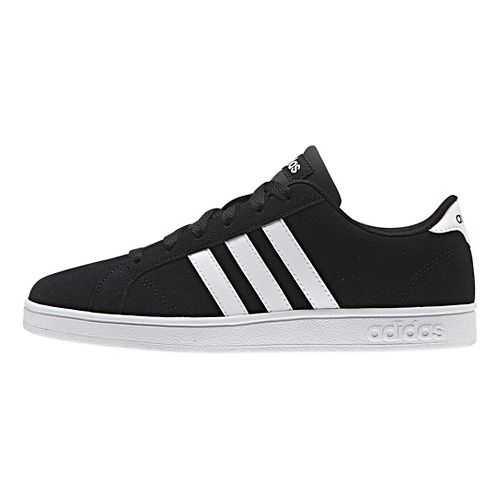 adidas Baseline Casual Shoe - Black/White 10.5C