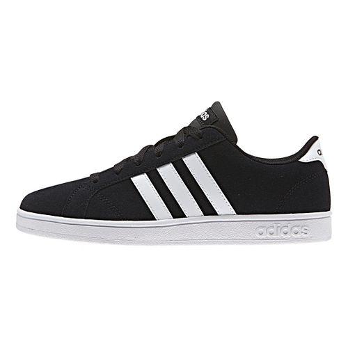 adidas Baseline Casual Shoe - Black/White 4Y