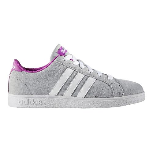 adidas Baseline Casual Shoe - Grey/White 1.5Y