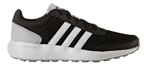 adidas Cloudfoam Race Casual Shoe - Black/White 5Y