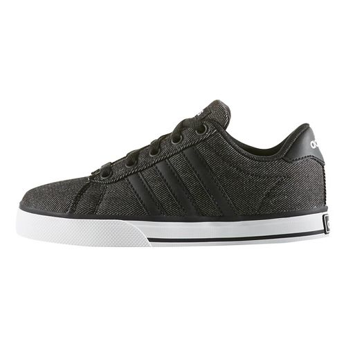 adidas Daily Casual Shoe - Black/White 1.5Y