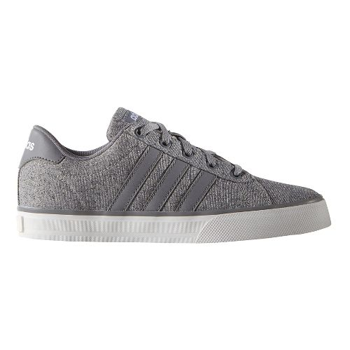 adidas Daily Casual Shoe - Grey/White 4Y
