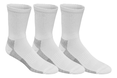 ASICS Contend Training Crew 9 Pack Socks - White S
