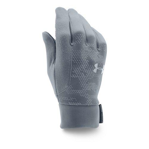 Mens Under Armour No Breaks CGI Liner Handwear - Graphite/Black XL