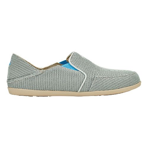 Womens OluKai Waialua Mesh Casual Shoe - Pale Grey/Tide Blue 8