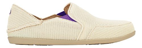 Womens OluKai Waialua Mesh Casual Shoe - Off White/Dahlia 8