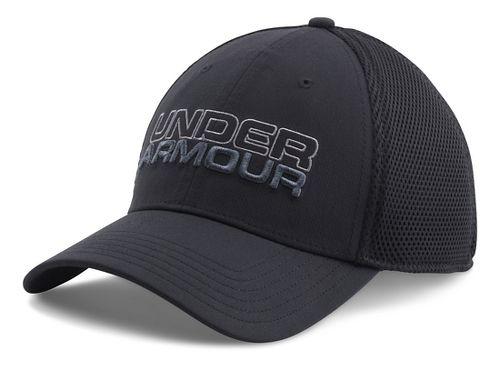 Mens Under Armour Cap Headwear - Black/Graphite M/L