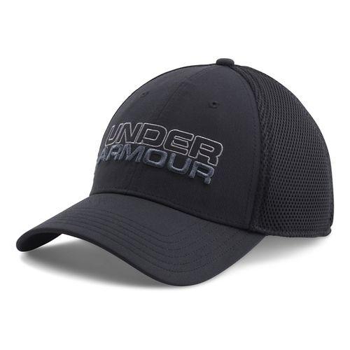 Mens Under Armour Cap Headwear - Black/Graphite L/XL