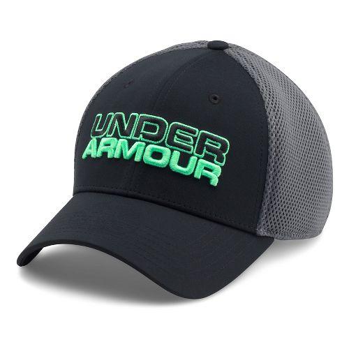 Mens Under Armour Cap Headwear - Black/Grey L/XL