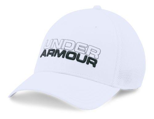 Mens Under Armour Cap Headwear - White/White XL/XXL