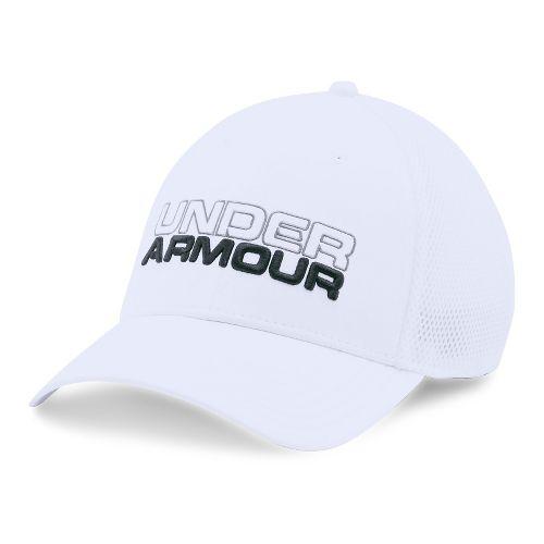 Mens Under Armour Cap Headwear - White/White L/XL