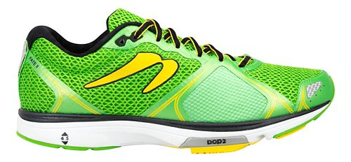 Mens Newton Running Fate III Running Shoe - Green/Yellow 10.5