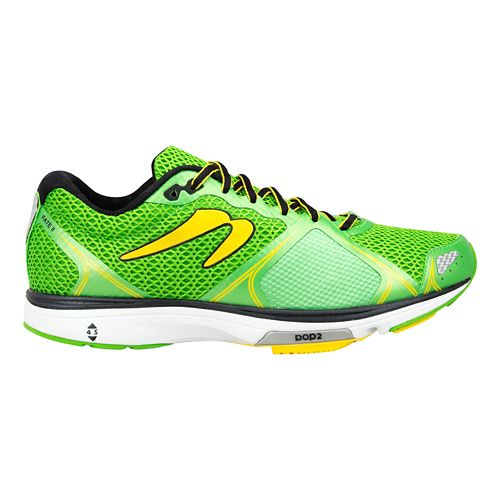 Mens Newton Running Fate III Running Shoe - Green/Yellow 11.5