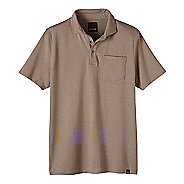 Mens prAna Brock Short Sleeve Non-Technical Tops