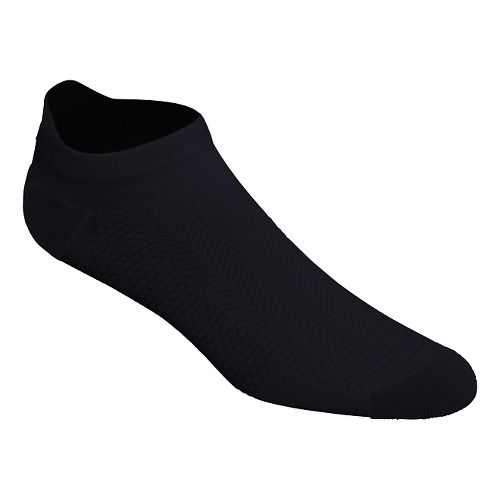 ASICS Cooling Single Tab 3 Pack Socks - Black M