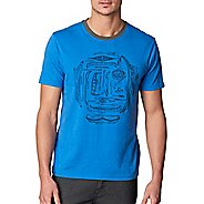 Mens prAna Canoe'N Ringer Short Sleeve Non-Technical Tops