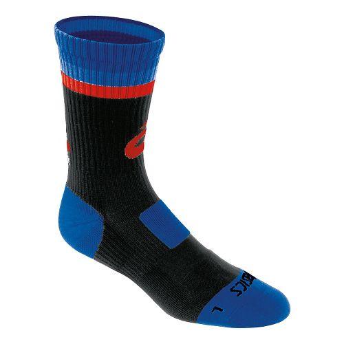 ASICS Craze Crew 3 Pack Socks - Black/Royal L