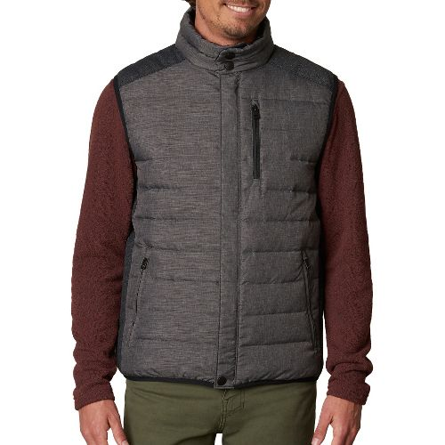 Mens prAna Gram Vests - Black M