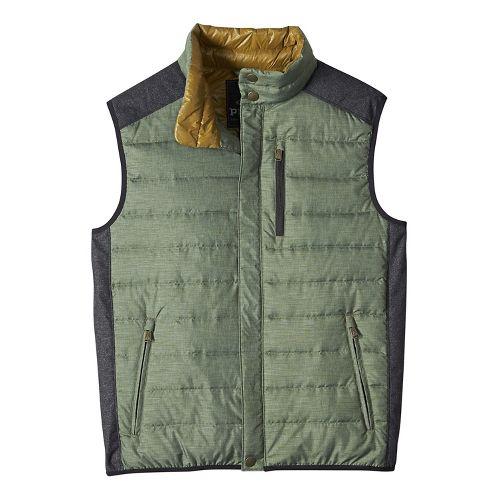 Mens prAna Gram Vests - Green XL
