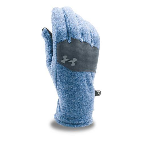 Mens Under Armour Survivor Fleece Glove Headwear - Heron/Stealth Grey S