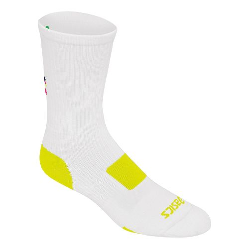 ASICS Flash Point Sock 3 Pack Socks - White/Lime L
