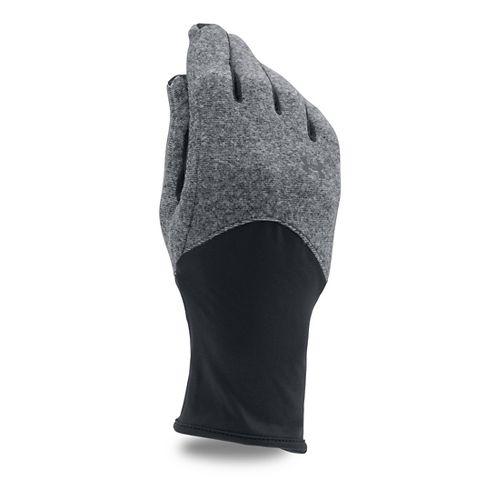 Womens Under Armour Survivor Fleece Glove Handwear - Black L