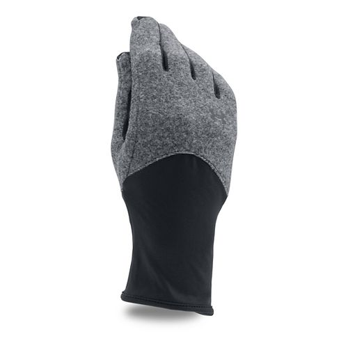 Womens Under Armour Survivor Fleece Glove Handwear - Black M