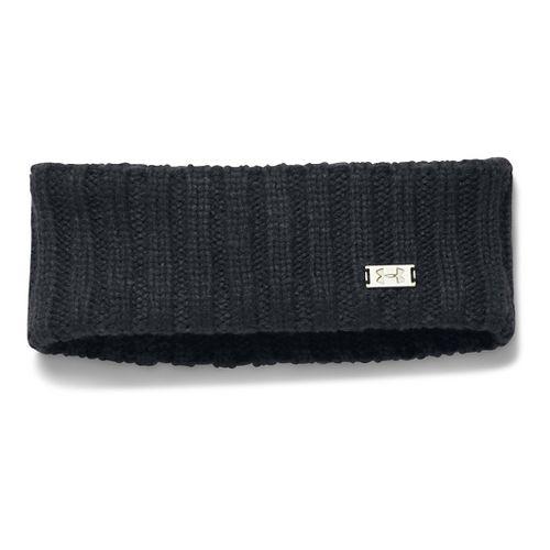 Womens Under Armour Around Town Band Headwear - Black