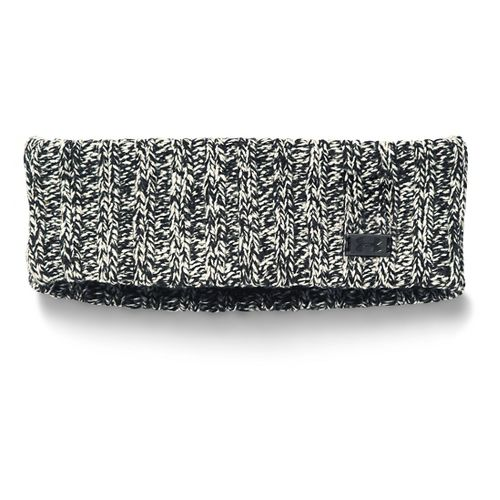 Womens Under Armour Around Town Band Headwear - Black/Ivory