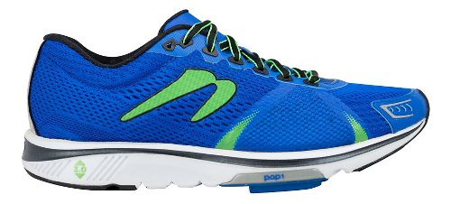 Mens Newton Running Gravity VI Running Shoe - Royal/Lime 10.5