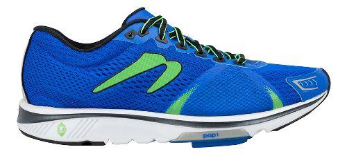 Mens Newton Running Gravity VI Running Shoe - Royal/Lime 12.5
