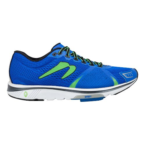 Mens Newton Running Gravity VI Running Shoe - Royal/Lime 10.5