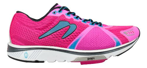 Womens Newton Running Gravity VI Running Shoe - Pink/Blue 8.5