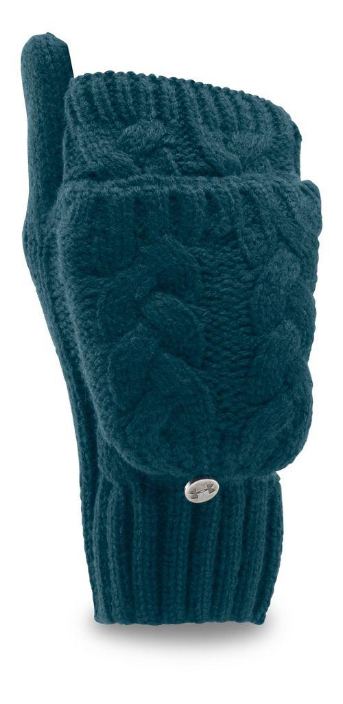 Womens Under Armour Around Town Glove Handwear - Nova Teal S/M