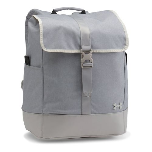 Womens Under Armour Downtown Pack Bags - Ivory/Smoke