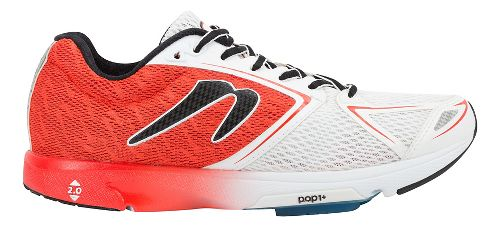 Mens Newton Running Distance VI Running Shoe - Red/White 11.5