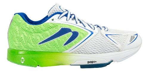 Womens Newton Running Distance VI Running Shoe - Green/White 7