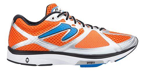 Mens Newton Running Kismet III Running Shoe - Orange/Blue 8.5