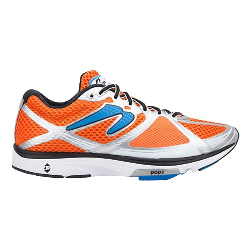 Mens Newton Running Kismet III Running Shoe - Orange/Blue 8.5