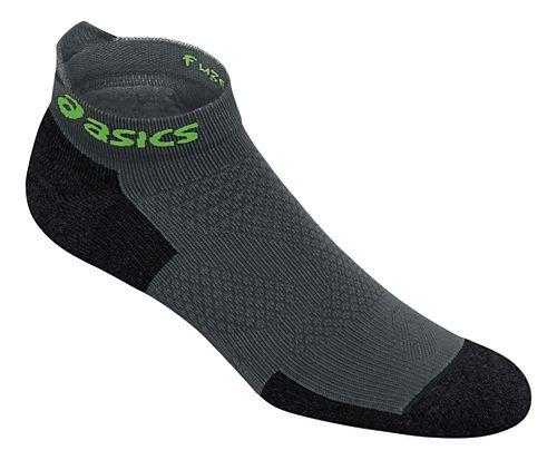 ASICS fuzeX Cushion Single Tab 3 Pack Socks - Dark Grey L