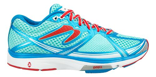 Womens Newton Running Kismet III Running Shoe - Blue/Ruby 6.5