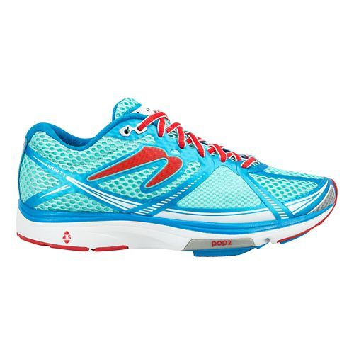 Womens Newton Running Kismet III Running Shoe - Blue/Ruby 8
