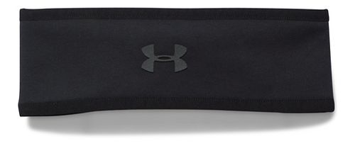 Womens Under Armour Elements Fleece Headband Headwear - Black