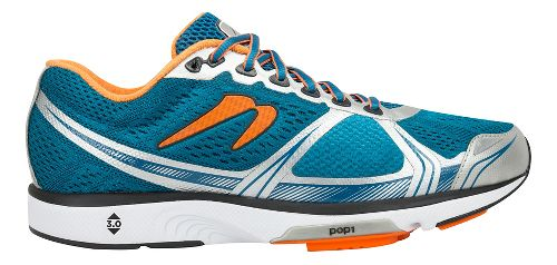 Mens Newton Running Motion VI Running Shoe - Blue/Orange 8