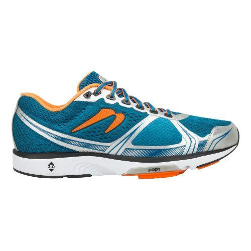 Mens Newton Running Motion VI Running Shoe - Blue/Orange 8.5