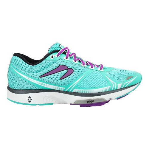 Womens Newton Running Motion VI Running Shoe - Turquoise 9