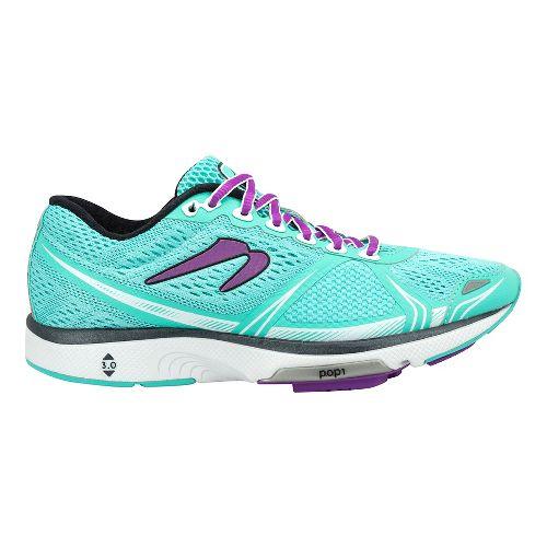 Womens Newton Running Motion VI Running Shoe - Turquoise 9